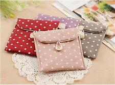 Women Girl Sanitary Napkin Towel Pads Small Bag Purse Holder Organizer Funny
