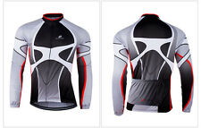 Mens Cycling Clothing Bicycle Bike Team Jersey SportsWear Long Sleeve Jersey Top