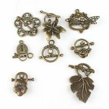 Hotsell Charms Wholesale Vintage Bronze Alloy Toggle Clasp Jewelry Findings L