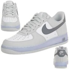 Nike AIR Force 1 Leather Trainers Lifestyle Shoe white Men 488298 069