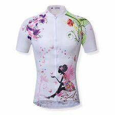 Pro Women Short Sleeve Breathable Cycling Jerseys Road Team Jerseys Bike Jerseys