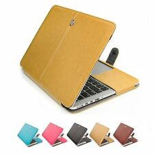 PU Leather Laptop Sleeve Bag Case for Apple Mac MacBook Air Pro Retina 11 13 15