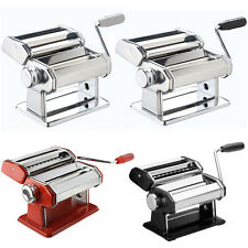 Pasta Machine Maker Lasagne Spaghetti Stainless Steel Cutter Thickness Variety