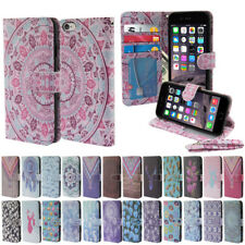 """For Apple iPhone 6/ 6S 4.7"""" Fashion Flip Leather Wallet Cover Case Pouch Stand"""