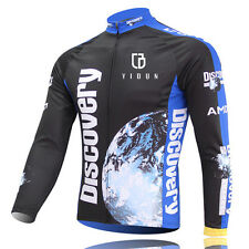 Discovery Long Sleeve Men's Cycling Jerseys MTB Road Bicycle Jerseys Jacket Tops