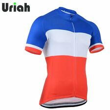 Retro Short Sleeve Men's Cycling Jerseys MTB Road Bicycle Jersey Jackets Tops