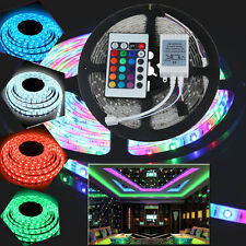 5m 16ft Roll 3528 SMD LED 300 LEDs Flexible Waterproof Light Strip DC 12V Deco
