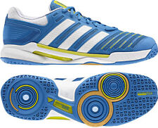 Mens Adidas Adipower Stabil 10.0 Indoor Performance Blue Sports Trainers Shoes