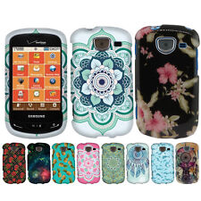 For Samsung Brightside U380 Various Patterned Snap On HARD Case Cover Accessory