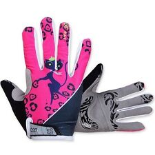 Winter Women's Cycling Gloves Full Finger 3D GEL Pad Bike Bicycle Gloves Pink