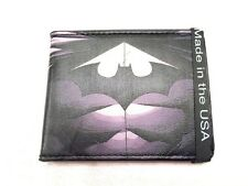 Brand New 2015 The Dark Knight Batman Leather Bi Fold Wallet (2 Awesome Styles!)