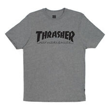 Brand New HUF X Thrasher Tour T-Shirt (Grey)