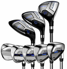 COBRA MAX COMBO HYBRID IRON SET 3H 4H 5H 6H 7H 4-PW GW SW Mens RH LH YOU PICK