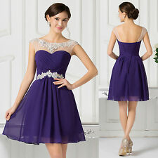 Short Mini Homecoming Dress Cocktail Party Graduation Prom Gown Bridesmaid Dress