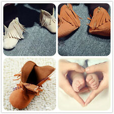 Sweet Toddler Baby Soft Sole NON-slip Tassel shoes baby unisex Moccasins 123# TK