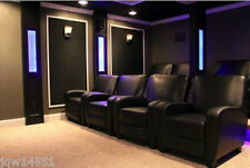 Lobby Recliner Chair Game Room Home Theater Seat Faux Leather Club Den Modern