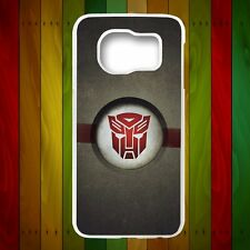 Transformer Autobot Logo Phone Case Cover For Samsung Galaxy Note S 3 4 5 6 Edge
