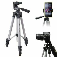 Universal Telescopic Camera Tripod Stand Holder Mount For Cell Phone iPhone HTC
