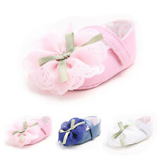 Cute Princess Baby Crib Toddler Girl Shoes Soft sole Newborn Prewalker # 3Size