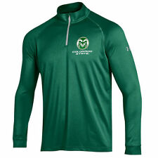 Colorado State Rams Under Armour 1/4 Zip Performance Top - Green - College