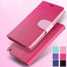 Luxury Magnetic Flip PU Leather Wallet Case Cover Card Holder For Mobile Phone