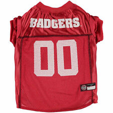 Wisconsin Badgers Mesh Dog Football Jersey - College