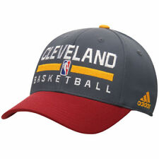 Cleveland Cavaliers adidas Practice Structured Flex Hat - Charcoal - NBA