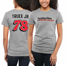 Martin Truex Jr Women's Driver Name & Number Classic Fit T-Shirt - Ash - NASCAR