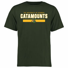 Vermont Catamounts Team Strong T-Shirt - Green - College