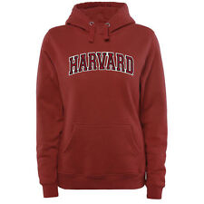 Harvard Crimson Women's Arch Name Pullover Hoodie - Crimson - College