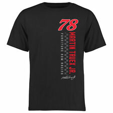 Martin Truex Jr Finish Line T-Shirt - Black - NASCAR