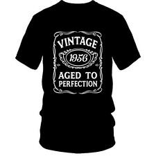 60th Birthday T-Shirt VINTAGE AGED TO PERFECTION 1956 Bday 60 Gift Idea Present
