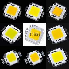 High Power 10/20/30/50/100W LED Chip Warm/Cool White SMD LED 900-9000LM Lamp TX