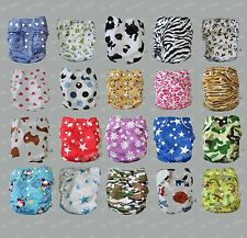 New Baby Toddler Infant Reusable Cloth Diaper nappy insert re-usable DP