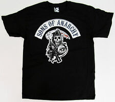 SONS OF ANARCHY SOA T-shirt Classic SAMCRO Reaper Logo Tee M,L,XL Black New