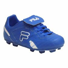 Fila FORZA III RB Youth Boys Prince Blue White Laced Outdoor Soccer Cleats