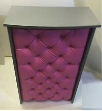 reception desk  leather padded front, hair beauty