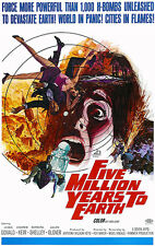 Five Million Years To Earth - 1967 - Movie Poster