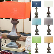Traditional Lucy Table Lamp with Antique Pewter Finish Resin Base