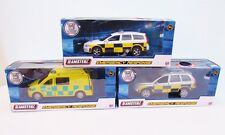 Teamsterz Emergency Vehicle Police Car or Ambulance Lights & Sounds Die-cast Toy