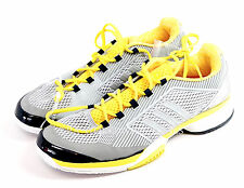 NEW Adidas Stella McCartney Barricade Womens Tennis Shoes Gray Yellow 10.5 / 11