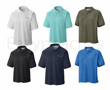 Columbia Men's Perfect Cast Polo, Sizes S-3XL, Short Sleeve Sport Fishing Shirt