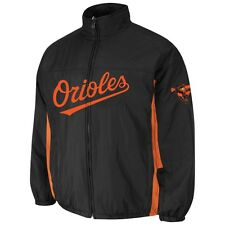 Baltimore Orioles Majestic MLB On-Field Double Climate Therma Base Jacket