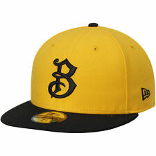 Bradenton Marauders New Era Authentic 59FIFTY Fitted Hat - Gold/Black - MiLB
