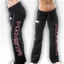 NEW Women's Monsta Clothing Neon YOGA / LOUNGE PANTS - Workout, Gym, Fitness