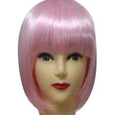 Fashion Short Straight Hair Full Wigs Women Cosplay Party Bob Hair Wig 13 Colors