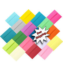 Multi Color Assorted A2 A6 A7 Envelopes for Photos Shower Wedding Announcements