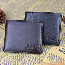 Hot Business Men Genuine Leather Wallet Pocket Card Cash Holder Purse Present