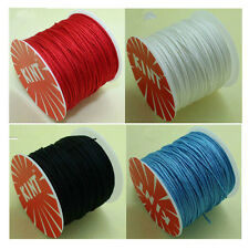 0.8MM-1MM DIY Superior Quality Nylon Cord Thread Ethnic Chinese Knot 7 Colors