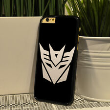 Phone Case With Transformers Decepticons Design For iPhone 4 4s 5 5s 6 6s Plus